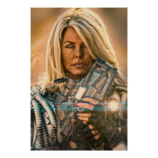 Rogue Warrior Sienna Alone Poster