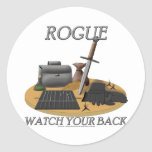Rogue: Watch Your Back Sticker