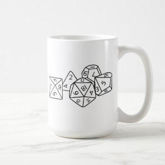Role playing dice mug