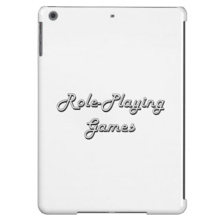 Role-Playing Games Classic Retro Design Cover For iPad Air