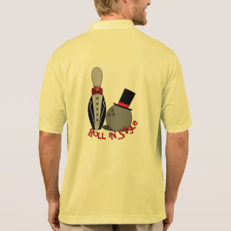 Roll In Style - Funny Bowling Shirts for Men