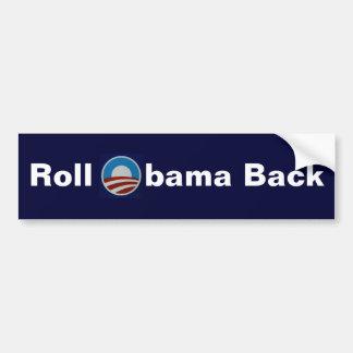 Roll Obama Back Bumper Sticker