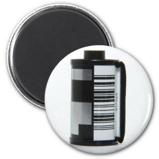 Roll of Film 6 Cm Round Magnet
