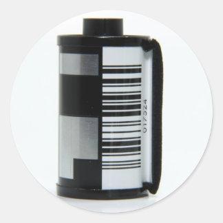 Roll of Film Round Sticker