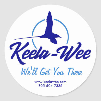 Roll of Keela-Wee Charters Stickers