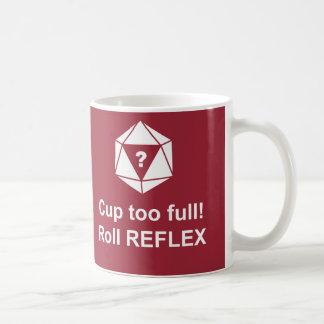 Roll reflex! coffee mug