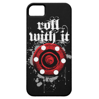 Roll With It (Roller Hockey) iPhone 5 Cases