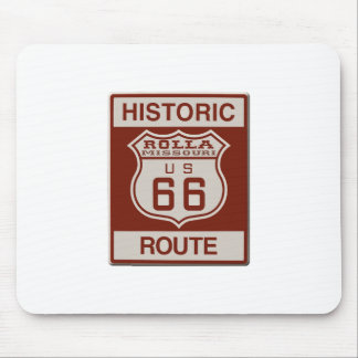 Rolla Route 66 Mouse Pad