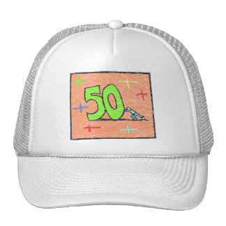 Rollback 50th Birthday Gifts Cap
