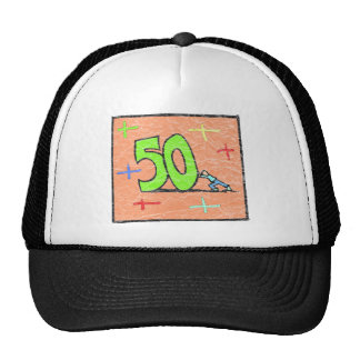 Rollback 50th Birthday Gifts Hats
