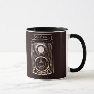 Rolleicord art deco camera mug