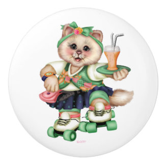 ROLLER CAT CUTE Ceramic Pull 2