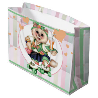 ROLLER CAT CUTE GIFT BAG LARGE 2