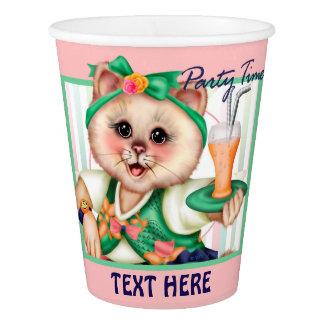 ROLLER CAT CUTE PAPER CUP 2