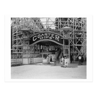 Roller Coaster at Glen Echo Park Photograph Postcard