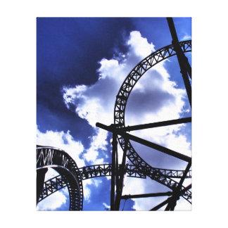 Roller Coaster Canvas Print