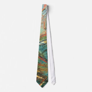 Roller Coaster Dreams Abstract Art Tie