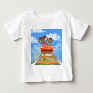 Roller Coaster Fair Theme Park Baby T-Shirt