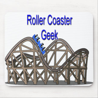 Roller Coaster Geek Mousepad