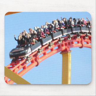 Roller Coaster high thrill Mouse Pad