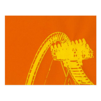 Roller Coaster Riders Postcard