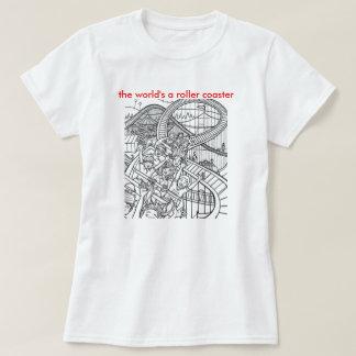roller coaster world T-Shirt