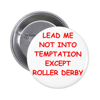 roller derby pinback buttons