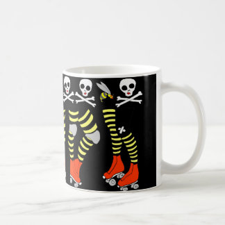 Roller Derby coffee mug cup