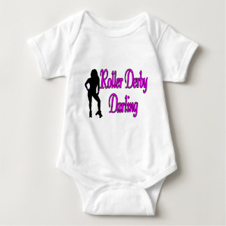Roller Derby Darling Baby Bodysuit