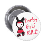 Roller Derby - Derby Girls Rule 6 Cm Round Badge