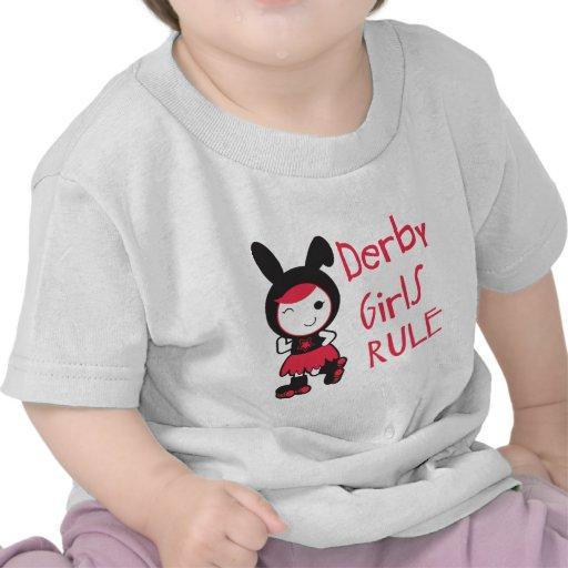 Roller Derby - Derby Girls Rule T Shirts