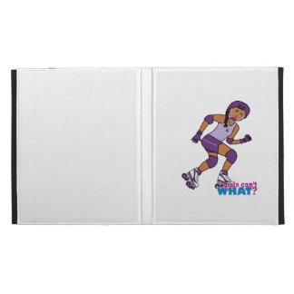 Roller Derby Girl iPad Folio Cases