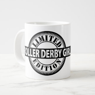 Roller Derby Girl Limited Edition, Skating Design Large Coffee Mug