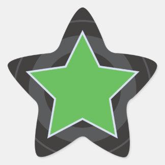 Roller Derby Jammer Star Star Sticker