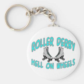 Roller Derby Key Chains