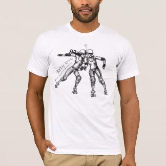 roller derby love T-Shirt