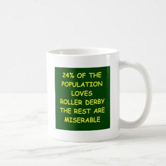 roller derby mug