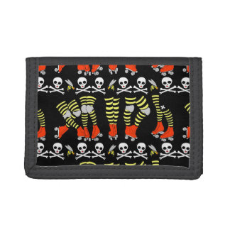Roller Derby nylon wallet