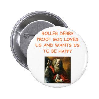 roller derby pins