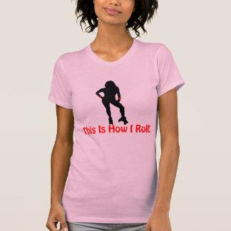 Roller Derby Roll T-shirt