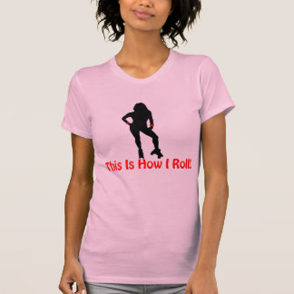 Roller Derby Roll T Shirts