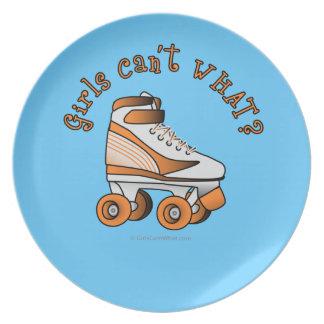 Roller Derby Skate - Orange Plates