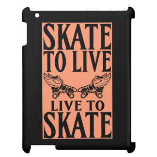 Roller Derby, Skate to Live Live to Skate Cover For The iPad