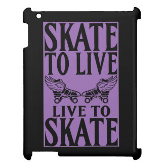 Roller Derby, Skate to Live Live to Skate iPad Case