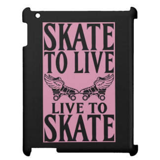 Roller Derby, Skate to Live Live to Skate iPad Cases