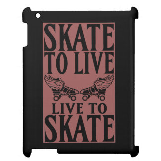 Roller Derby, Skate to Live Live to Skate iPad Covers