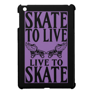 Roller Derby, Skate to Live Live to Skate iPad Mini Cases