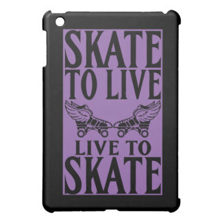 Roller Derby, Skate to Live Live to Skate iPad Mini Cover