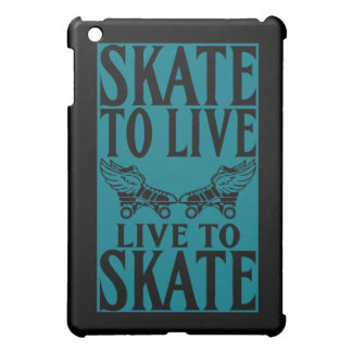 Roller Derby, Skate to Live Live to Skate iPad Mini Covers