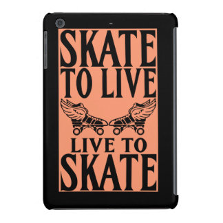 Roller Derby, Skate to Live Live to Skate iPad Mini Retina Cases